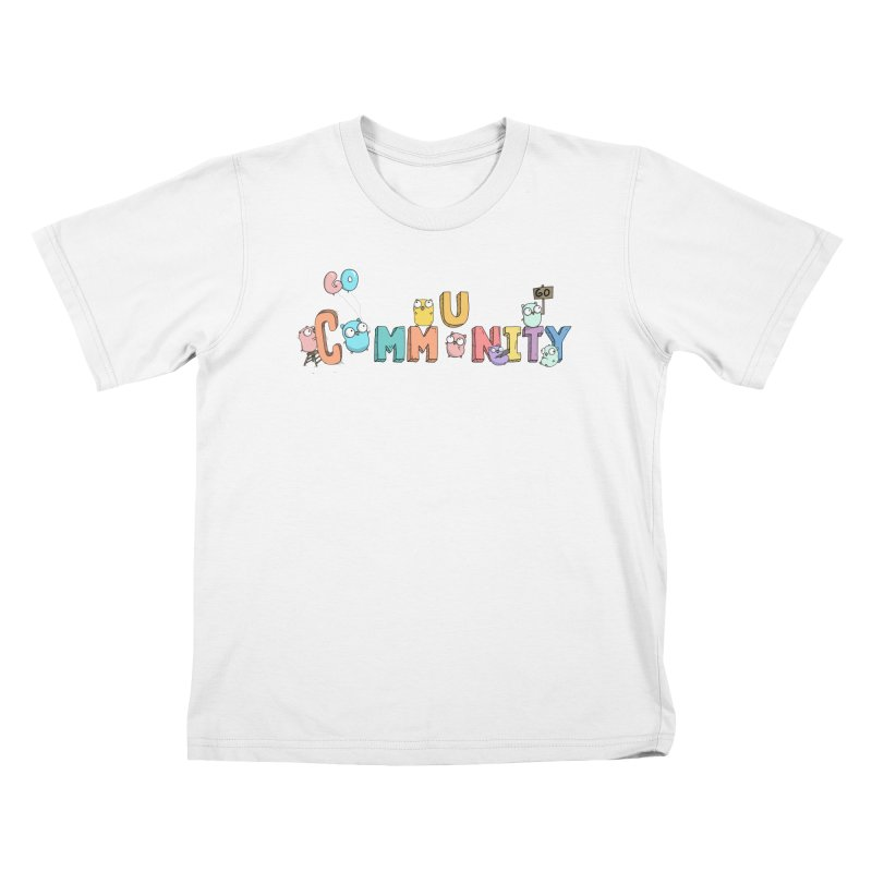 Go Community Kids T-Shirt by Women Who Go