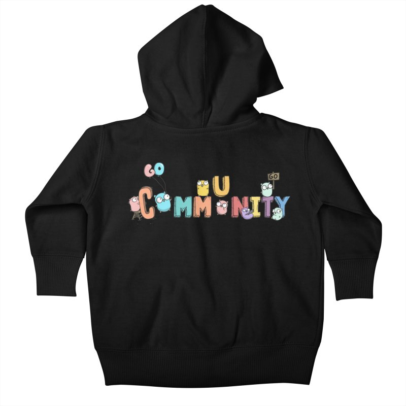 Go Community Kids Baby Zip-Up Hoody by Women Who Go
