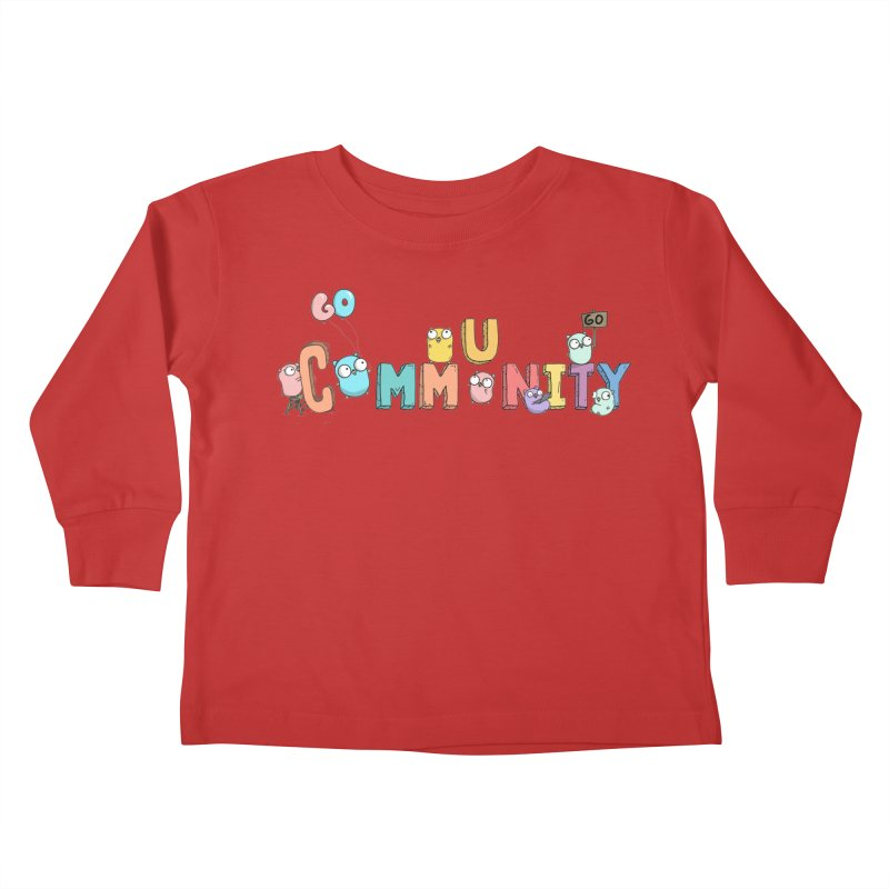 Go Community Kids Toddler Longsleeve T-Shirt by Women Who Go