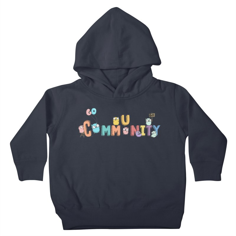Go Community Kids Toddler Pullover Hoody by Women Who Go