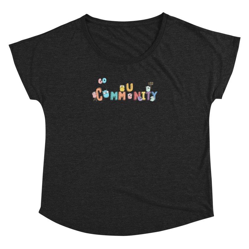 Go Community Women's Dolman Scoop Neck by Women Who Go