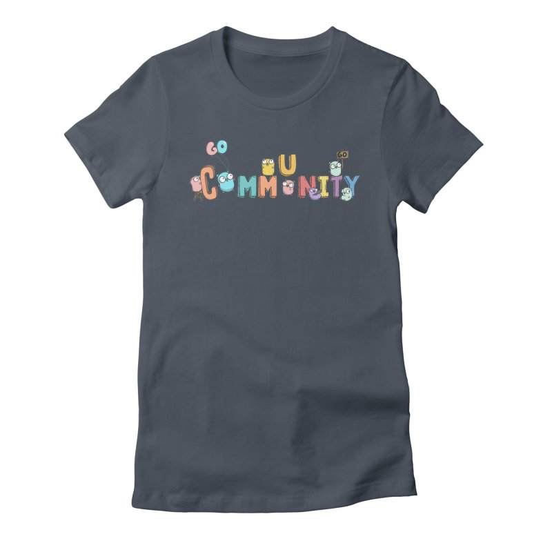 Go Community Women's T-Shirt by Women Who Go