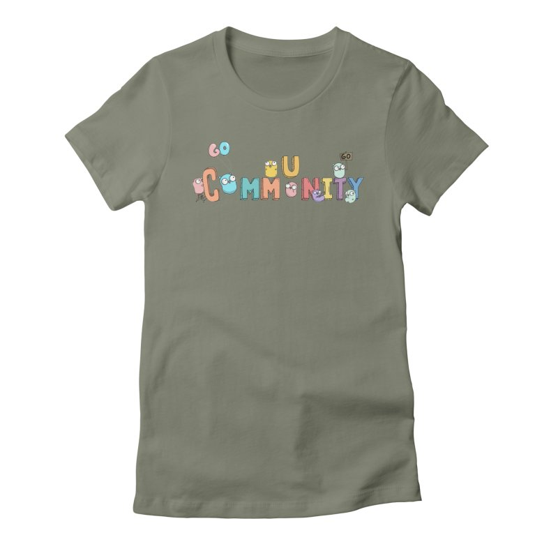 Go Community Women's Fitted T-Shirt by Women Who Go