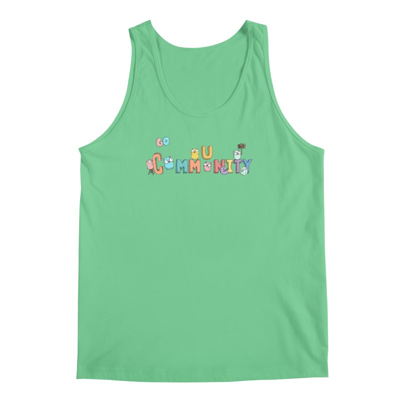 Go Community Men's Tank by Women Who Go