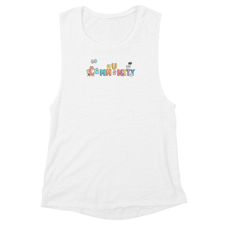 Go Community Women's Muscle Tank by Women Who Go