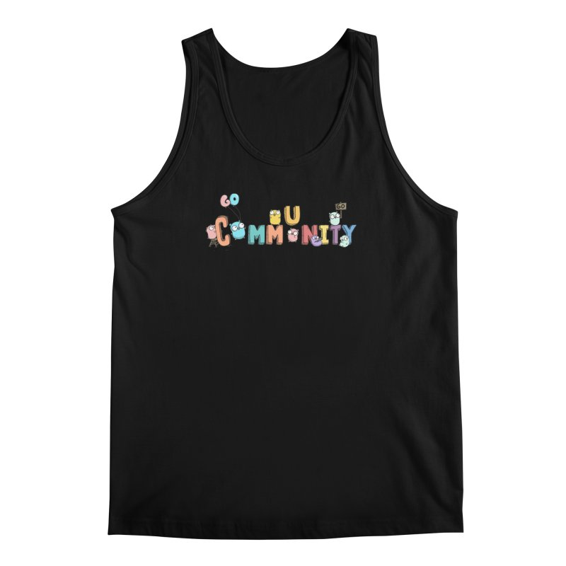 Go Community Men's Regular Tank by Women Who Go