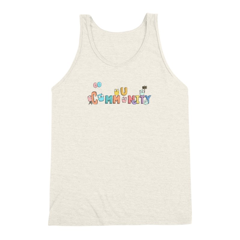 Go Community Men's Triblend Tank by Women Who Go