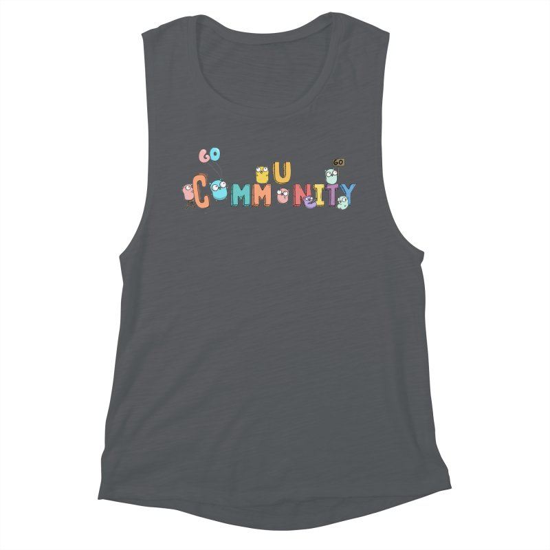 Go Community Women's Muscle Tank by Women Who Go