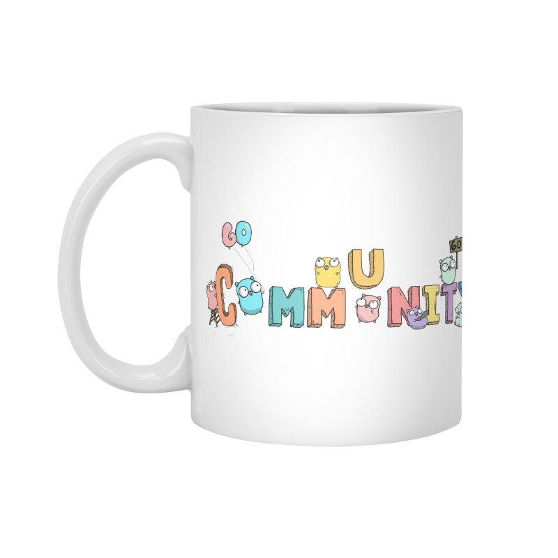 Go Community Accessories Standard Mug by Women Who Go