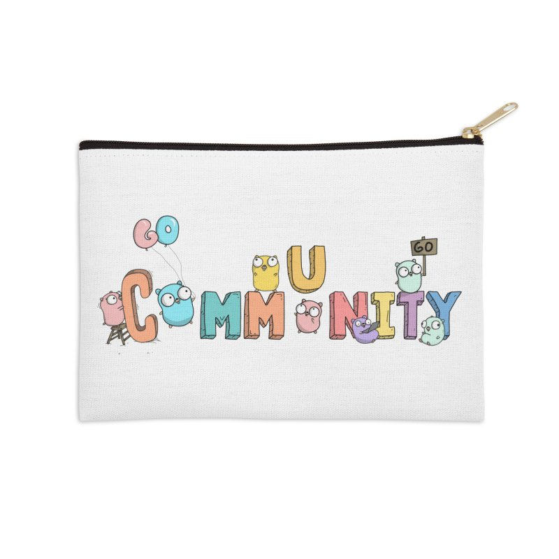 Go Community Accessories Zip Pouch by Women Who Go