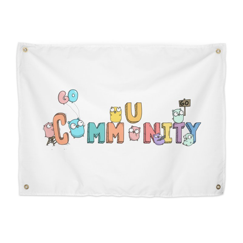 Go Community Home Tapestry by Women Who Go