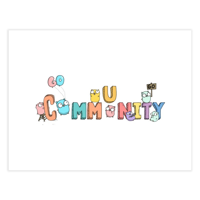 Go Community Home Fine Art Print by Women Who Go