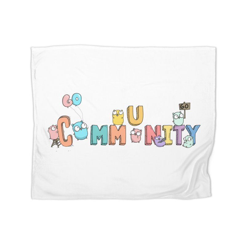 Go Community Home Fleece Blanket Blanket by Women Who Go