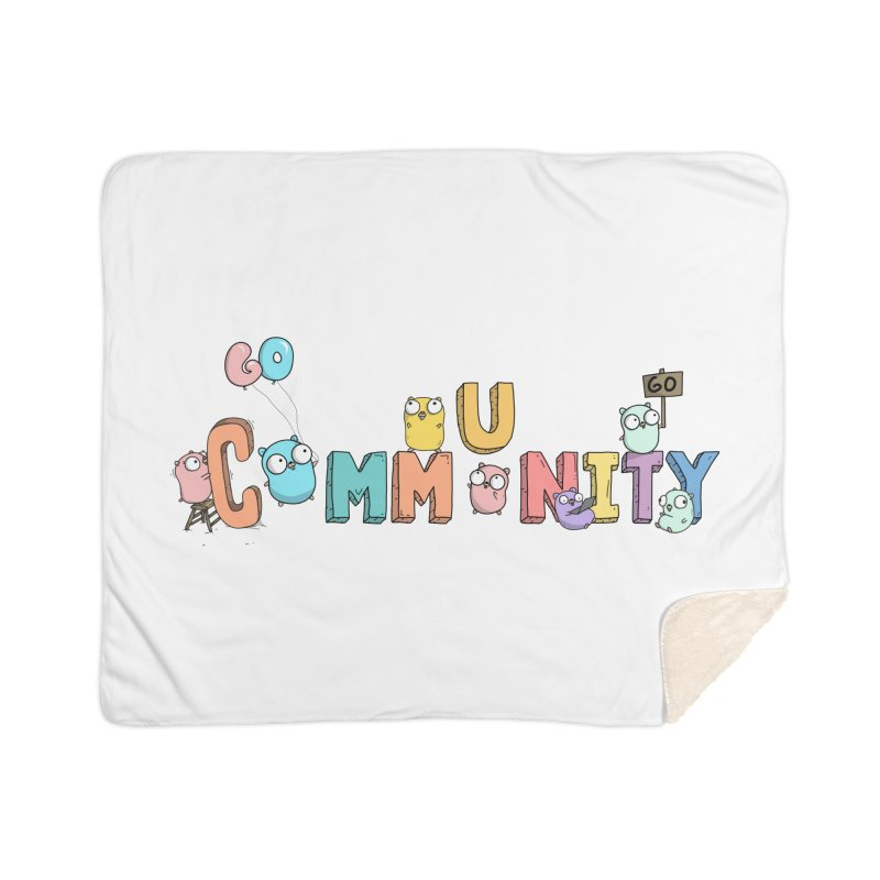 Go Community Home Sherpa Blanket Blanket by Women Who Go