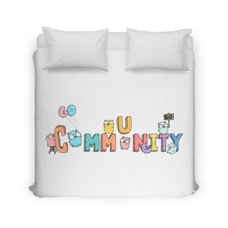 Go Community Home Duvet by Women Who Go