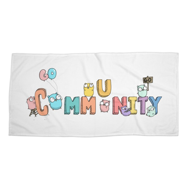 Go Community Accessories Beach Towel by Women Who Go