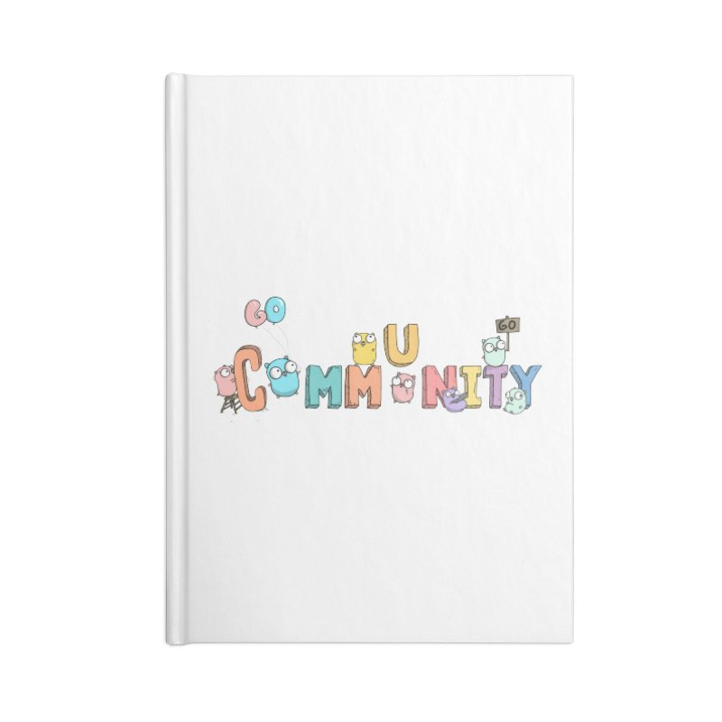 Go Community Accessories Lined Journal Notebook by Women Who Go