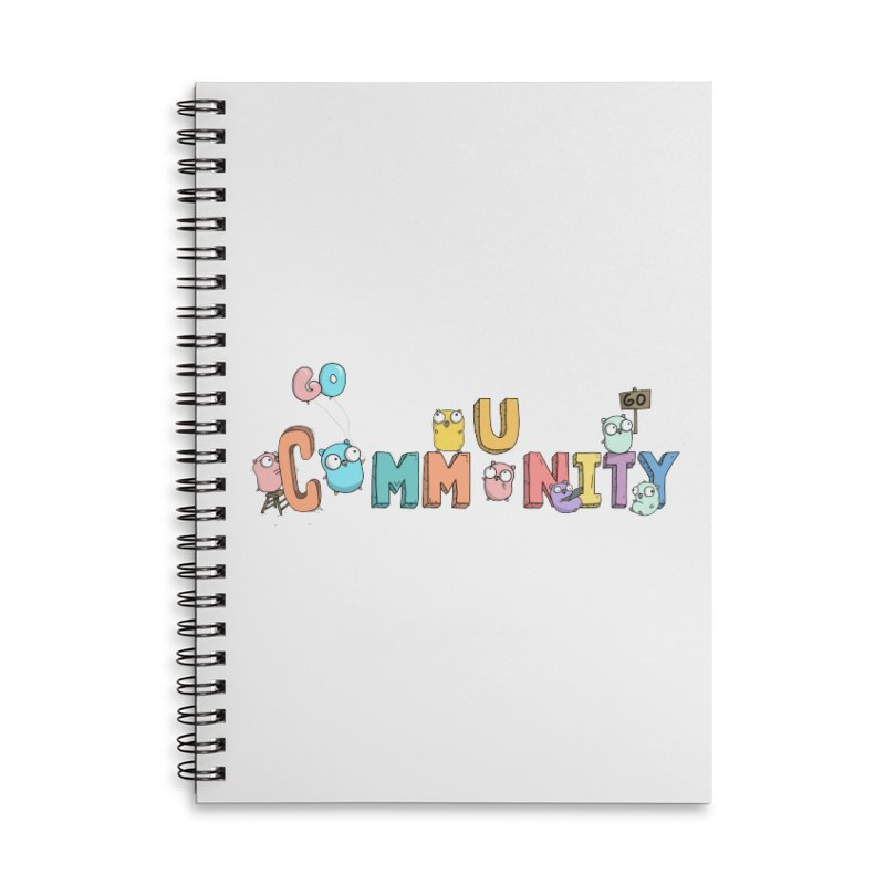 Go Community Accessories Lined Spiral Notebook by Women Who Go