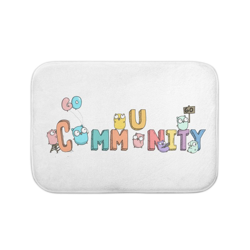 Go Community Home Bath Mat by Women Who Go