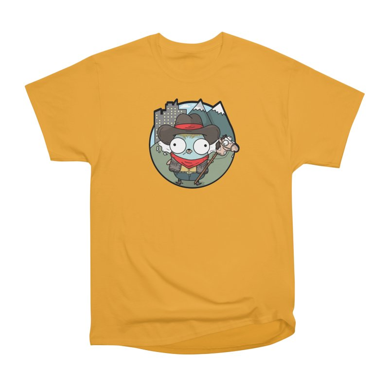 Cowboy Gopher Men's T-Shirt by Women Who Go