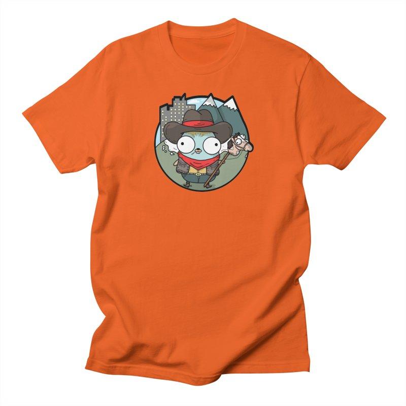 Cowboy Gopher Men's T-Shirt by Women Who Go