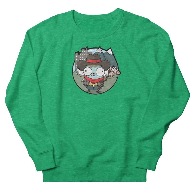 Cowboy Gopher Men's French Terry Sweatshirt by Women Who Go