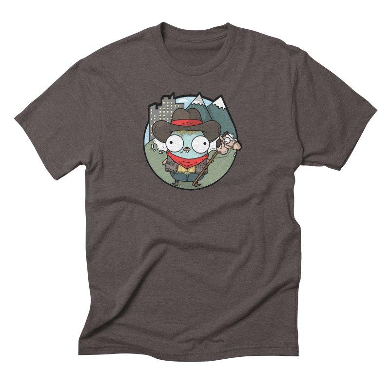 Cowboy Gopher Men's Triblend T-Shirt by Women Who Go