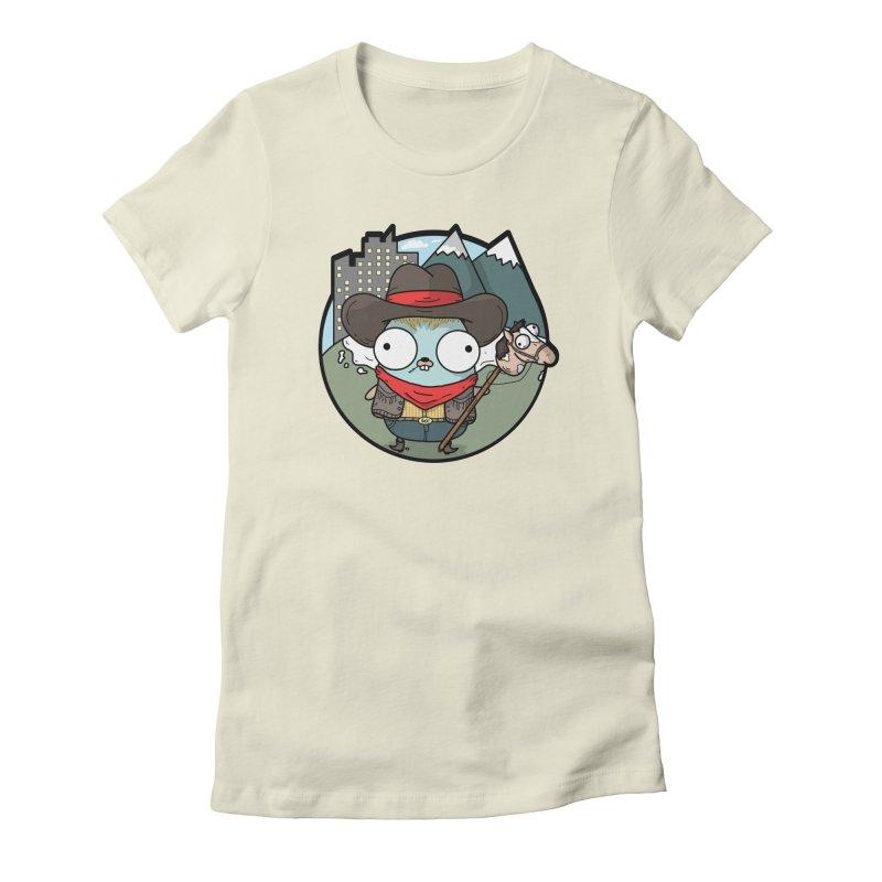 Cowboy Gopher Women's T-Shirt by Women Who Go