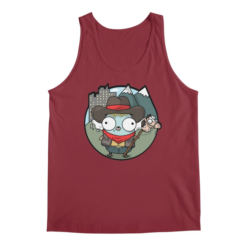 Cowboy Gopher Men's Tank by Women Who Go
