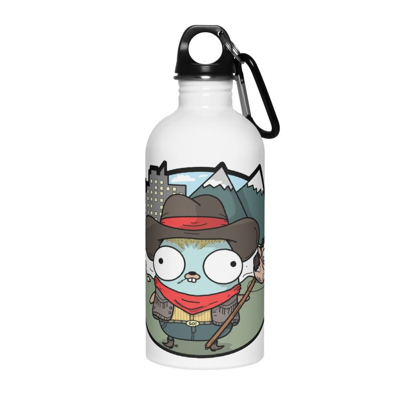 Cowboy Gopher Accessories Water Bottle by Women Who Go