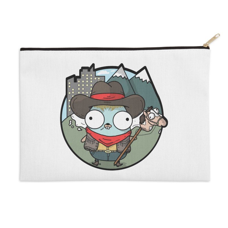 Cowboy Gopher Accessories Zip Pouch by Women Who Go