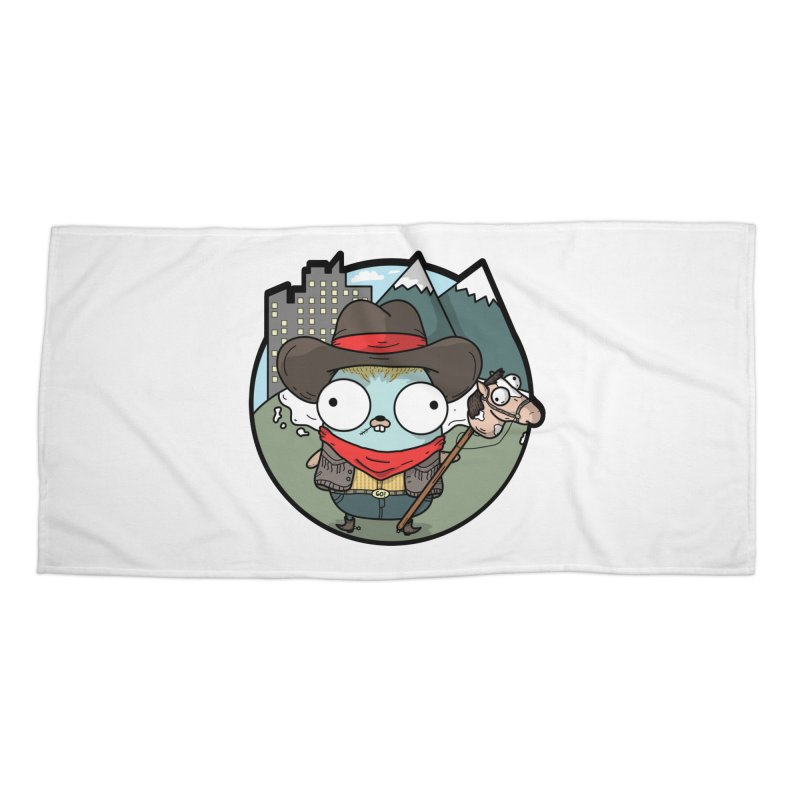 Cowboy Gopher Accessories Beach Towel by Women Who Go