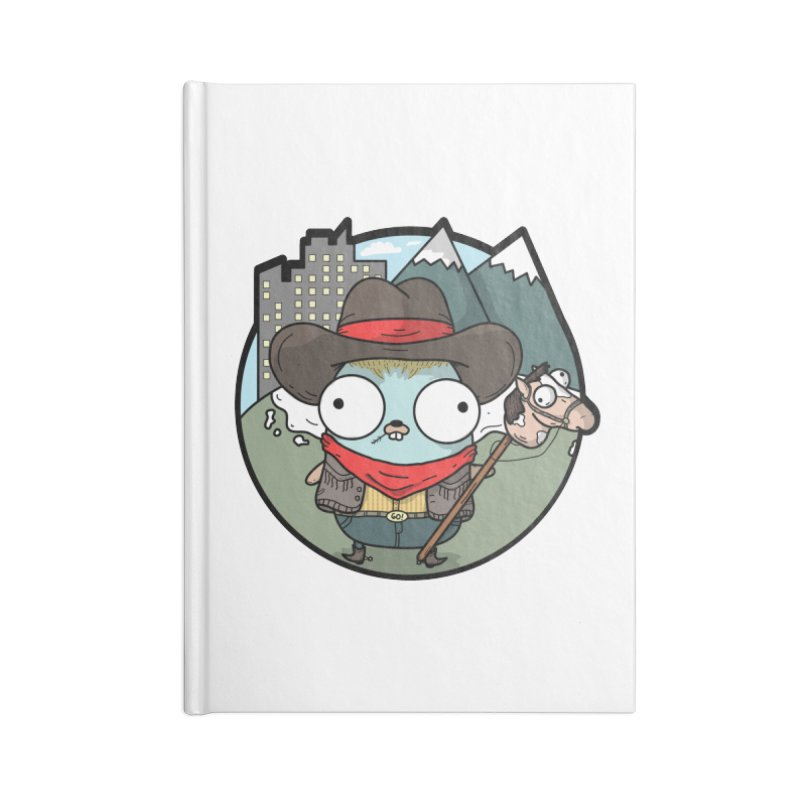 Cowboy Gopher Accessories Lined Journal Notebook by Women Who Go
