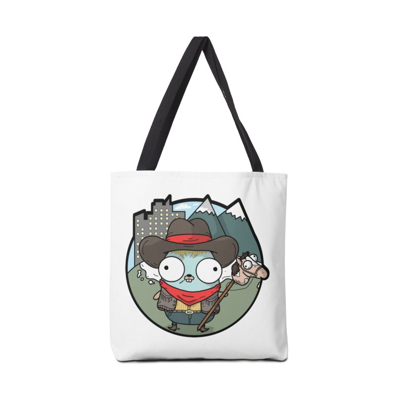 Cowboy Gopher Accessories Tote Bag Bag by Women Who Go
