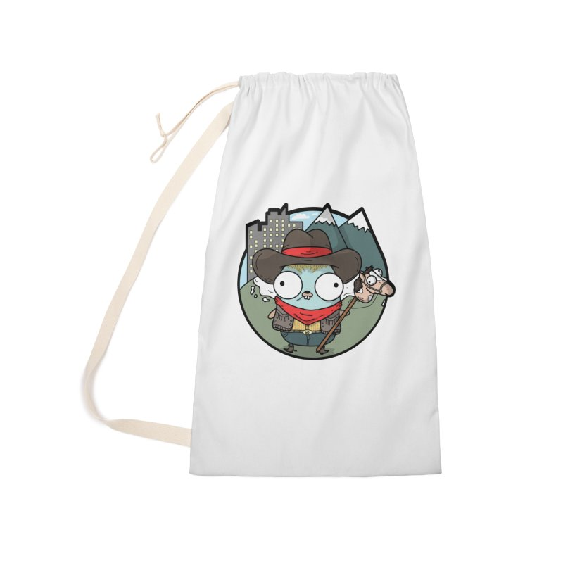 Cowboy Gopher Accessories Laundry Bag Bag by Women Who Go
