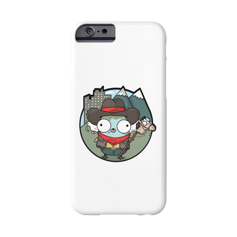 Cowboy Gopher Accessories Phone Case by Women Who Go