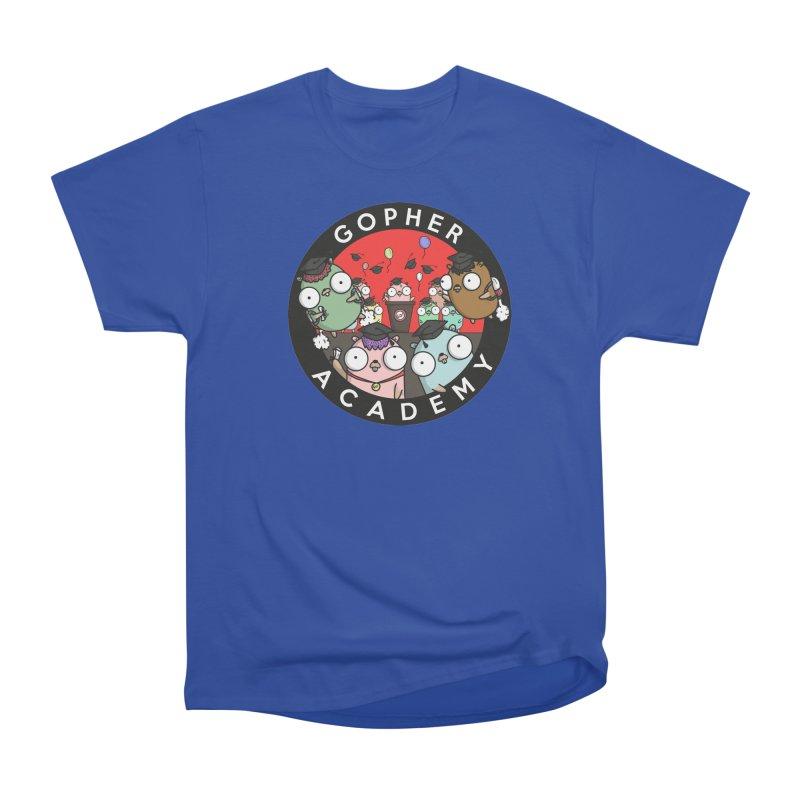 Gopher Academy Women's Heavyweight Unisex T-Shirt by Women Who Go