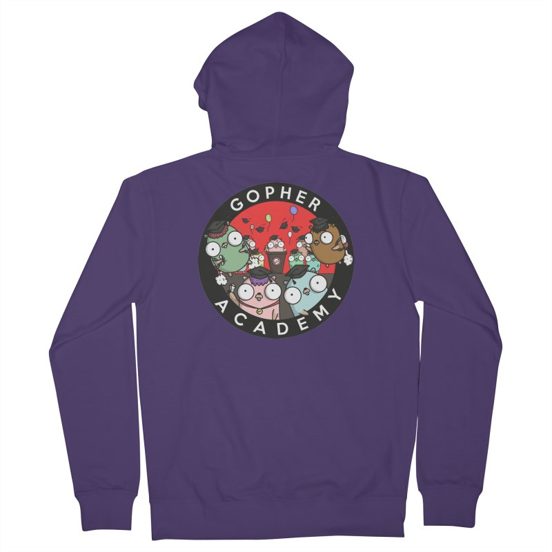 Gopher Academy Women's French Terry Zip-Up Hoody by Women Who Go