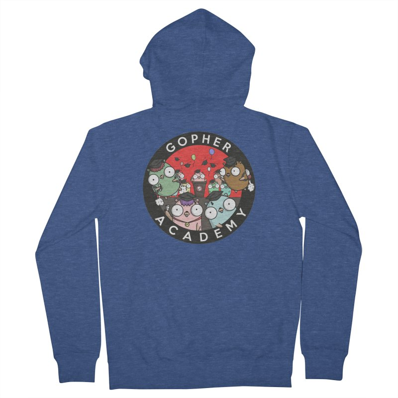 Gopher Academy Men's French Terry Zip-Up Hoody by Women Who Go