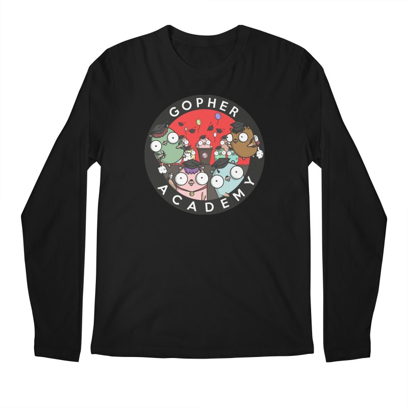 Gopher Academy Men's Longsleeve T-Shirt by Women Who Go