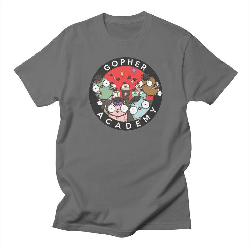 Gopher Academy Men's Regular T-Shirt by Women Who Go