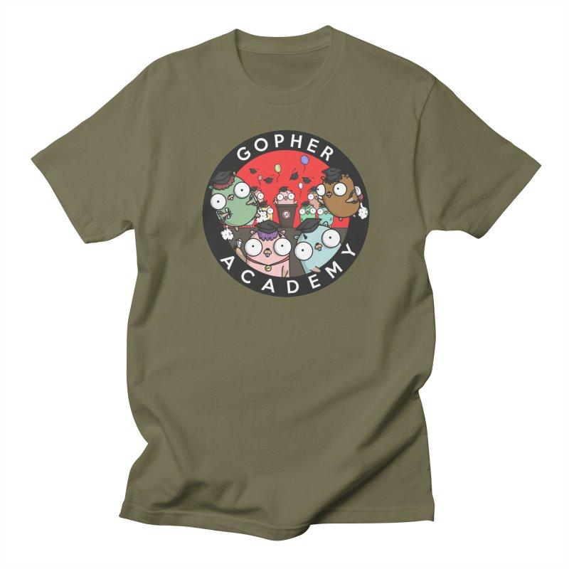 Gopher Academy Women's Regular Unisex T-Shirt by Women Who Go