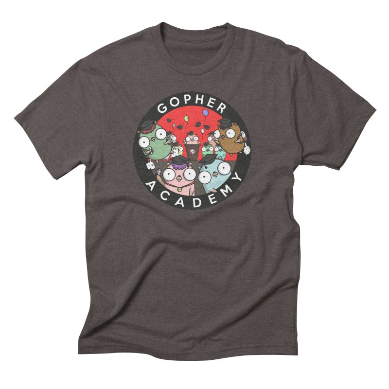 Gopher Academy Men's Triblend T-Shirt by Women Who Go