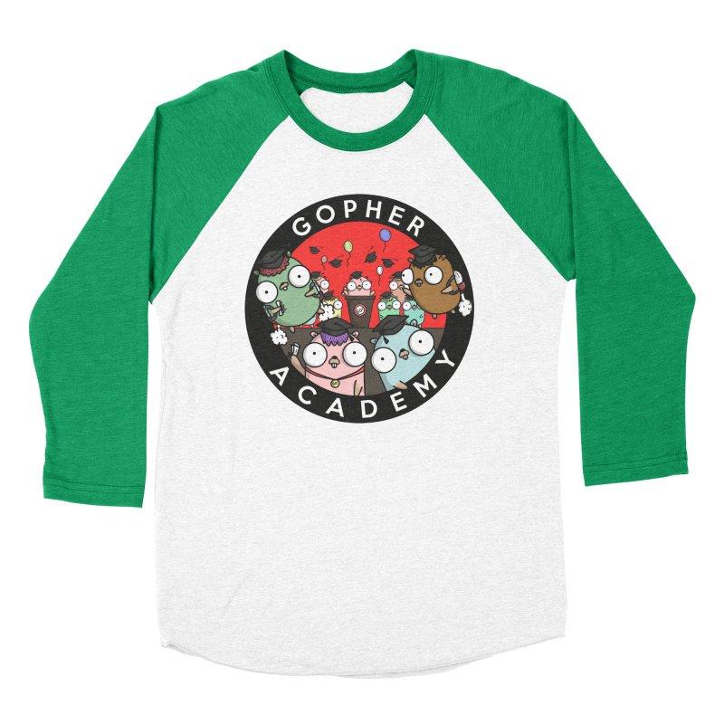 Gopher Academy Women's Baseball Triblend Longsleeve T-Shirt by Women Who Go