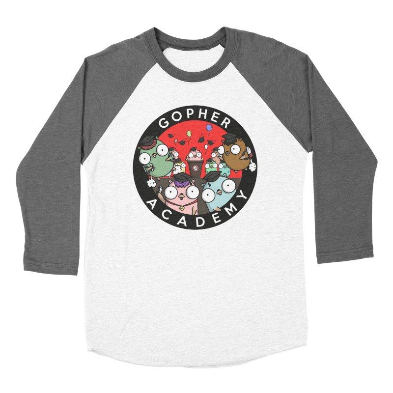 Gopher Academy Men's Baseball Triblend Longsleeve T-Shirt by Women Who Go