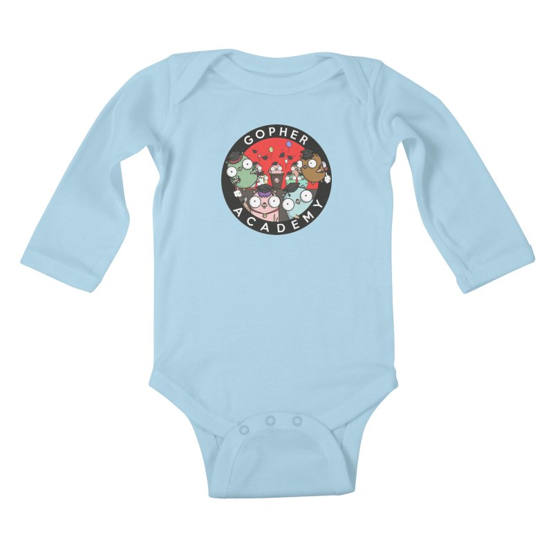 Gopher Academy Kids Baby Longsleeve Bodysuit by Women Who Go