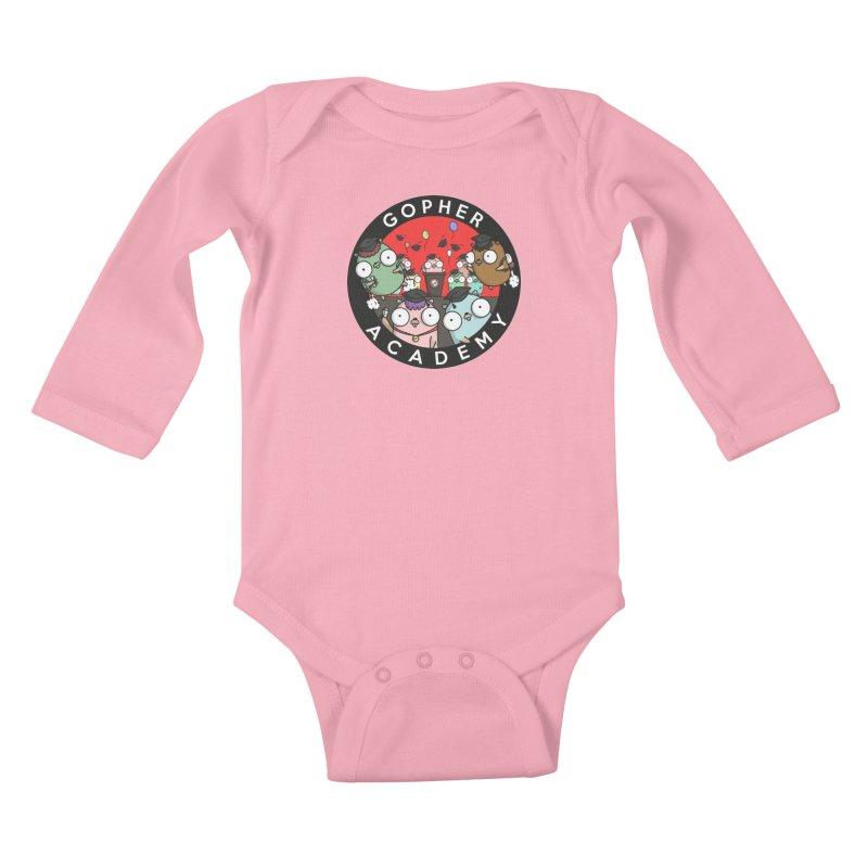 Gopher Academy Kids Baby Longsleeve Bodysuit by Women Who Go