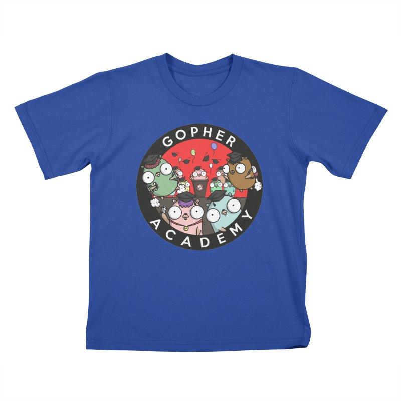 Gopher Academy Kids T-Shirt by Women Who Go