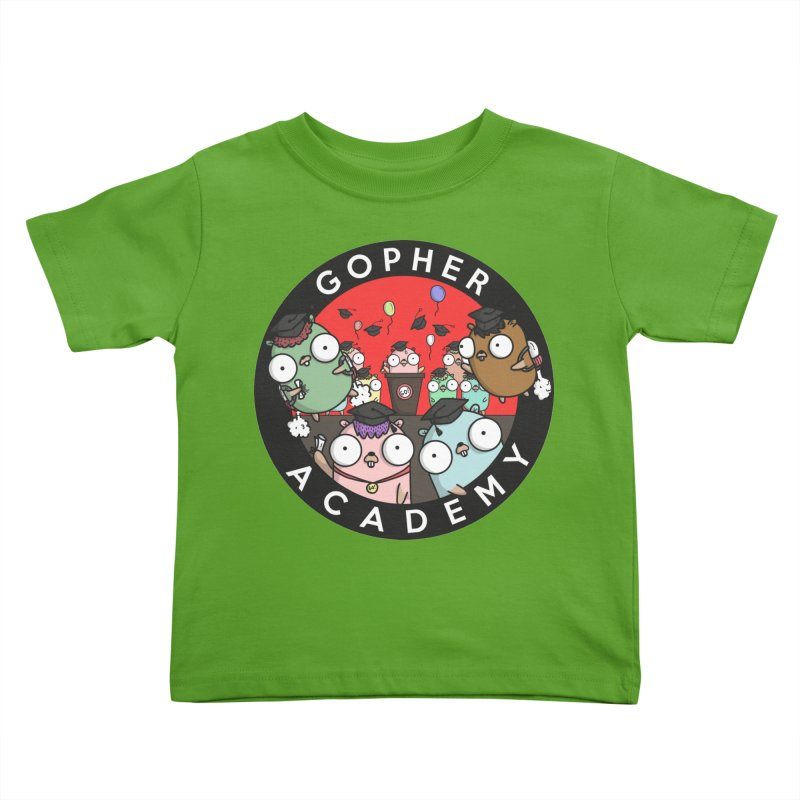 Gopher Academy Kids Toddler T-Shirt by Women Who Go