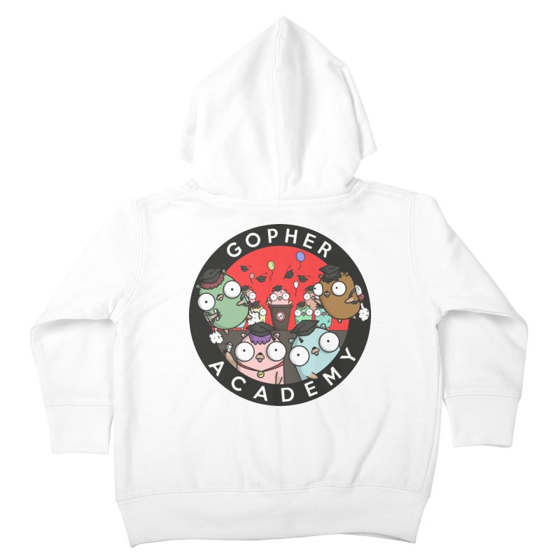 Gopher Academy Kids Toddler Zip-Up Hoody by Women Who Go